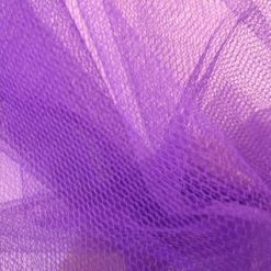 purple dress net