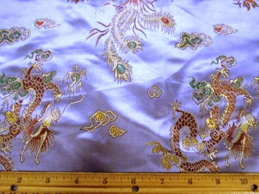 Chinese Brocade Dragon print fabric