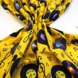 Yellow Music Records cotton fabric