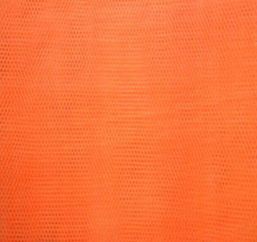 Dress Net Chinese Quality Flame Orange