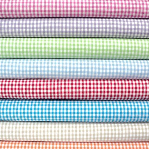 Gingham fabric wonderful selection of gingham fabric land for Gingham fabric