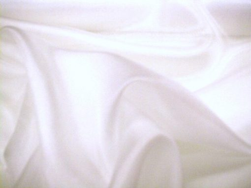 Lycra Cotton White
