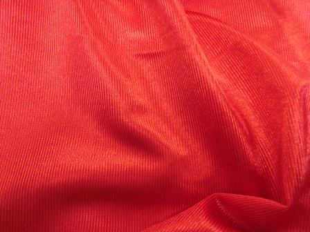 red stage satin