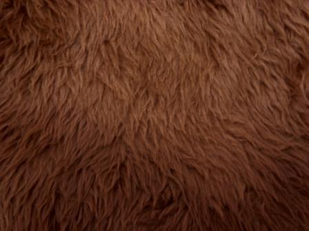 malt faux fur