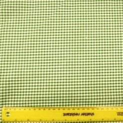 3mm emerald gingham