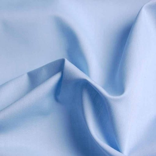Pale Blue Poly Cotton Drill