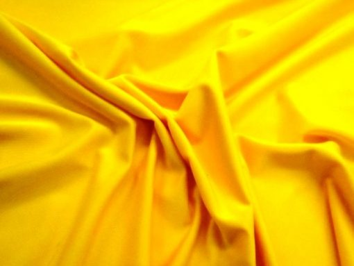 Sunshine Yellow High Shine Lycra
