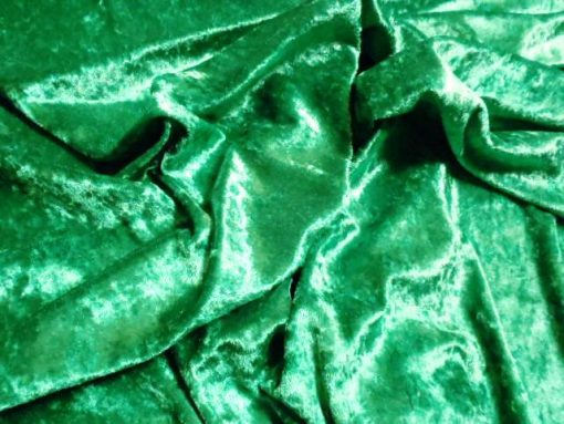 Emerald Crushed Velvet