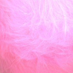 pink long hair fur