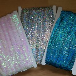 2 Row Assorted Sequins