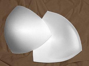 bra cups white