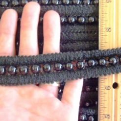 Black Beaded Trim Code Kirsty 24