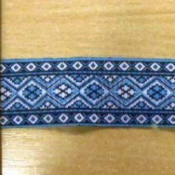 Blue Indian Braid