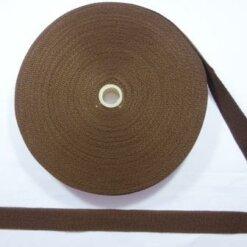 webbing tape brown