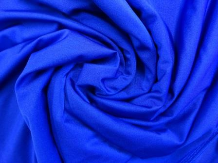 Lycra Polyester Spandex High Shine 190g royal