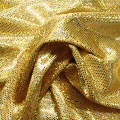 Dazzle Dust Foil Jersey Gold Hologram