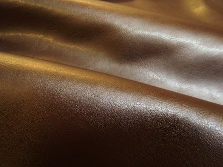 brown leatherette