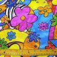 Satin Floral Flower Print