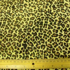 Satin Print Animal Fabric