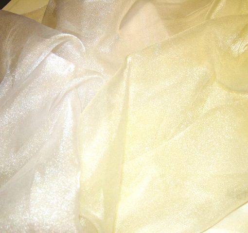 Voile Sugar Puff 100% Nylon Ivory