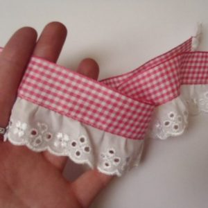 Miss Rosie Gingham Lace