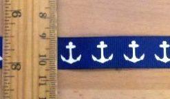 Ribbon 1 1/2cm Wide Anchors
