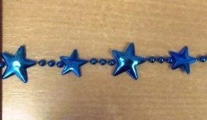 Metallic Star Trim