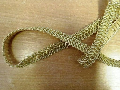 Metallic Frogging Braid Trim