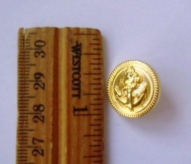 Buttons Metallic Anchor Code B5 1.8cm Wide