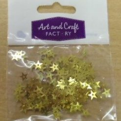 Small Star Sequins in Packets