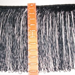 Black Fringe 12 inch