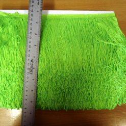 """Flo Green 6"""" Fringe"""