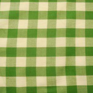 green 24mm gingham