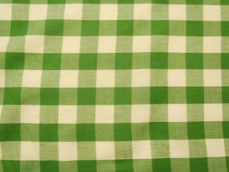 green 24mm gingham