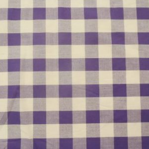 purple 24mm gingham