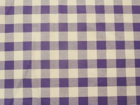 purple 24mm gingham