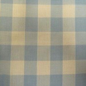 pale blue 24mm gingham