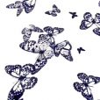 Butterfly Flying High Georgette