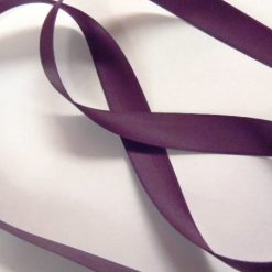 aubergine ribbon