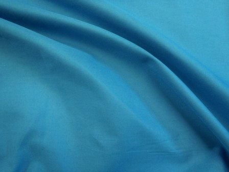 dk turquoise poly cotton