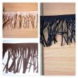 Suede Fringe Collage