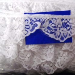 Gathered Lace Malaga Trimming