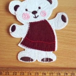 Wine Rosy Ted Motif