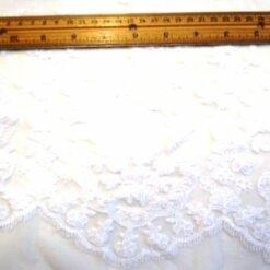 white guipure