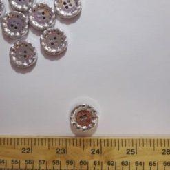silver button 8066