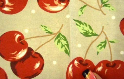 Beige cherries