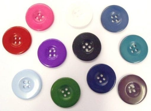 Large Plastic 54mm 9039 Buttons