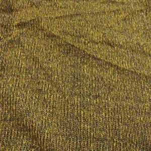 Gold Knitted Lurex Jersey