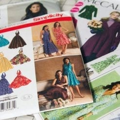 dressmaking patterns