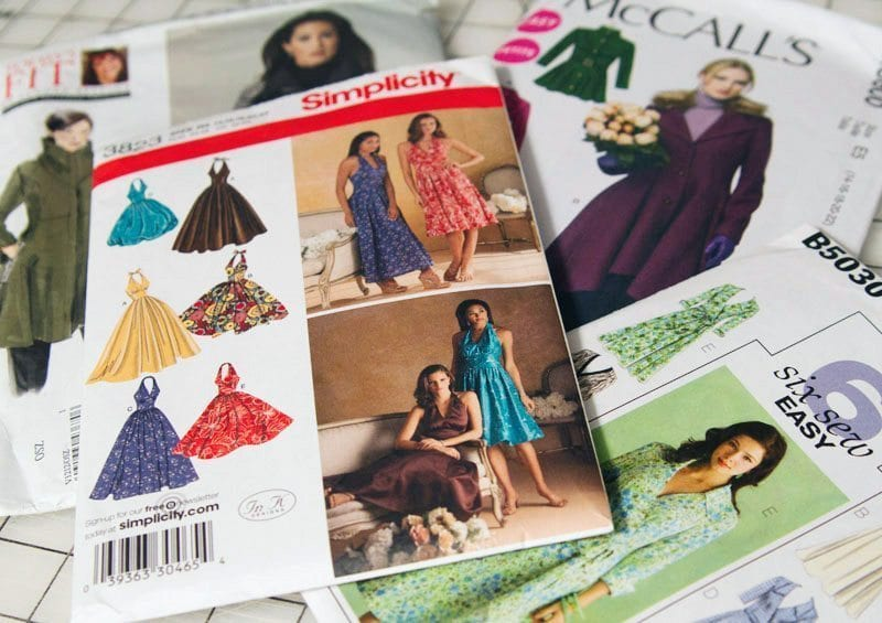 Dressmaking Patterns Available at Fabric Land | Fabric Land
